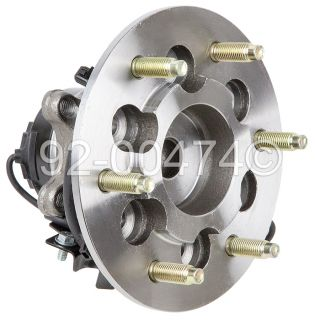 Chevy Colorado GMC Canyon Isuzu I Series Front Left Wheel Hub Bearing Assembly