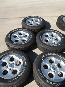 "5 18"" Jeep 2013 Wrangler Sahara Silver Wheels Tires Rims Unlimited Rubicon 9119"