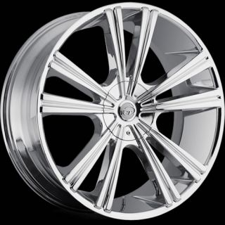 18x8 Chrome VCT Monza Wheels 5x110 5x115 40 SAAB 9 3 9 5 9 4 SUZUKI