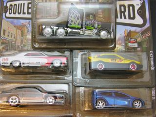 Hot Wheels 2013 Boulevard Series Case M Set of All 5 Long Gone Honda Hurst