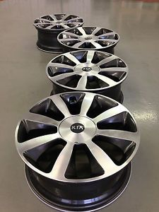 4 Kia Optima Spectra Image EX Factory 18 Wheels Rims Caps 5x115 Machined
