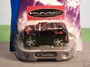 Hot Wheels Hot Tunerz 2002 Cadillac Escalade KMC Blk