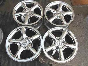 "Jeep Grand Cherokee 17"" Chrome Alloy Wheel Rims LKQ"