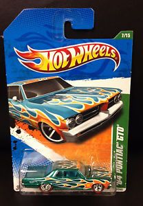 Hot Wheels Treasure Hunt 64 Pontiac GTO