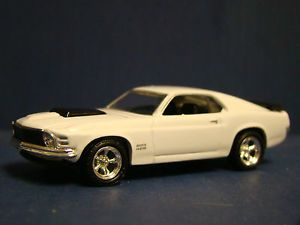 Hot Wheels Le 100 1970 Ford Mustang Boss 429 Wimbleton White Black VHTF RARE