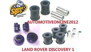 Super Pro Land Rover Discovery SuperPro Front Suspension Bush Kit Series 1 91 99
