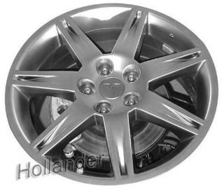 2007 2008 Mitsubishi Eclipse Wheel 18x8 Alloy 7 Spoke Dark Finish 65810B