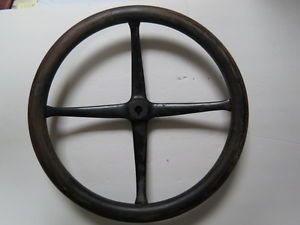 Wood Steering Wheel Old Vintage Model T Dodge Packard Oldsmobile Nice