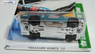 RARE Hot Wheels Treasure Hunt TH 2012 69 Chevelle SS 3 OF15 Tampo Variation