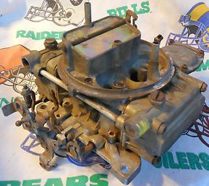 Vtg Holley 600 Carb Chevy Ford Buick Pontiac Oldsmobile Dodge Lincoln Mercury