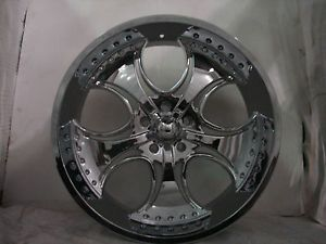 "4 24"" KMC Wheels Rims Ford F 150 Expedition 5x135 5 Lug KM75524913212"