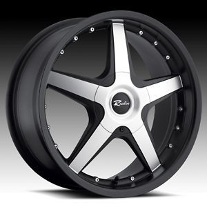 17 inch Black Raceline Cayman Wheels Rims Mitsubishi Eclipse galant Lancer 5x4 5