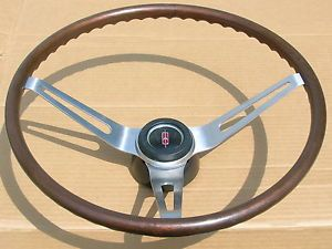 67 68 Olds 442 Hurst Olds Cutlass F85 Vista RARE GM Wood Steering Wheel Hub Cap