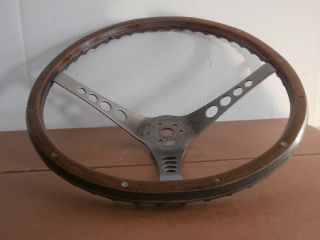 "Wood Steering Wheel The ""500"" by Superior Performance Chevelle Camaro Corvette"