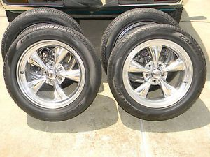 "American Racing Aluminum Torque Thrust 17"" Wheels and Tires GM 5 Lug Pontiac"