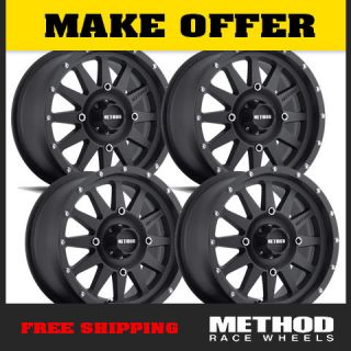 Method Race Wheels UTV STANDARD14X7 Black Fits All Polaris RZR XP900 XP1000 800