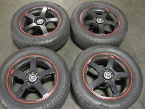 4 Motegi Racing Performance Wheels with Cooper 235 55 17 Tires RIMS01
