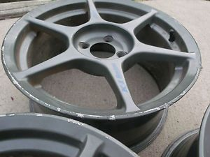 "2 Kosei K1 Racing Wheels 16""x7 5"" 4x100mm Bolt Pattern 43 Offset JDM 4AGZE"