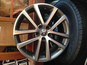 Volkswagon VW 18 Bathhurst Alloy Wheel 5x112 Jetta GTI Passat CC Golf EOS