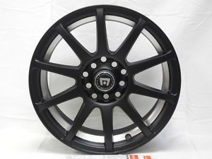 "Motegi Racing SP10 MR2747 Matte Black Wheel 15x7"" 5x100mm 42mm Offset"