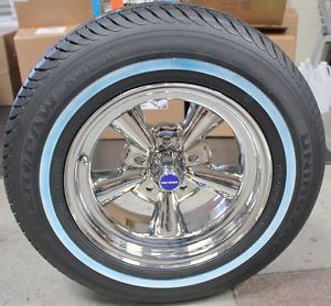 Truespoke Custom Chrome Supreme Wheels and Tiger Paw Radial Tires 15 x 6""