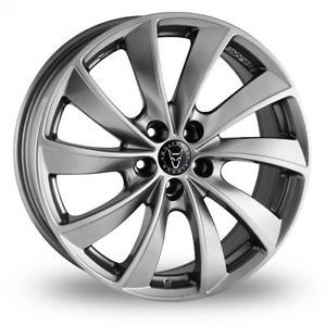 "4 x 19"" Wolfrace Rial Lugano Alloy Wheels Only 1360415526 1122"