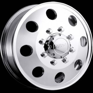 16x6 Polished Ultra 002 Dually Dually Front Wheels 8x170 102 Ford F 350 Dually