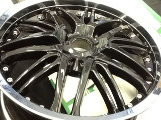 Verde 18inch inch Wheels Wheel Set of 4 BMW Mercedes Camaro Lexus Jetta Rims