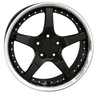 "17"" Rims Fit Camaro Corvette C5 Deep Dish Wheels Set"