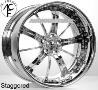 "22"" AC Forged 315 CH 3pc Wheels and Tires Rims for BMW 3 5 6 7SERIES Mercedes"