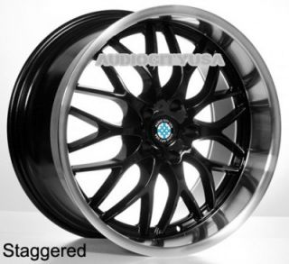 "19"" R505 BK for BMW Wheels and Tires Rims 1 3 5 6 7 Series M3 M4 M5 M6 x3 X5"