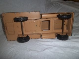 Vintage 1960s Tonka Farms Farm Truck Horse Trailer and 1 Horse