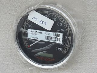 "Harley Davidson Road King Deuce Wide Glide Speedometer 5"" New"