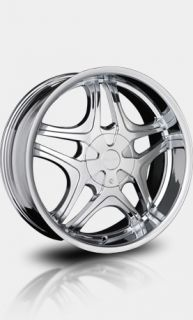 "20"" Chrome Falken Marquis Wheels with Tires Chevy GMC Ford Lincoln Nissan"
