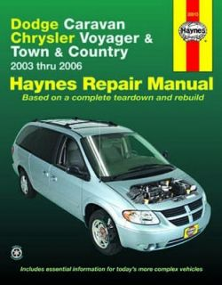 Repair Manual Book Dodge Caravan Chrysler Voyager T C