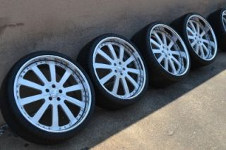 "22"" Forgiato Concavo Staggered Wheels Rims Aston Martin Pirelli Pzero Tires"