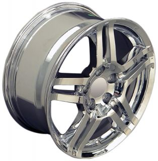 "17"" Chrome TL Style Set of 4 Rims Fit Acura CL s TL s RL 3 5 RSX 3 2 TSX MDX"