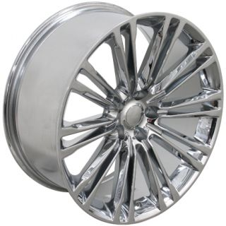 "20"" Chrome Wheels 20x9 Set of 4 Rims Fits Chrysler 300 SRT 8"