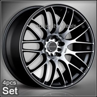 "17""Tenzo Type M V2 Wheels Rims Lexus Scion EVO"
