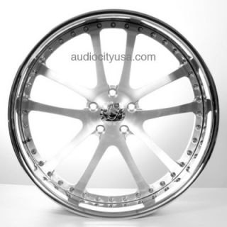 24 AC 312 Satin 3pc Wheels Rims for BMW Camaro Range Rover Mercedes