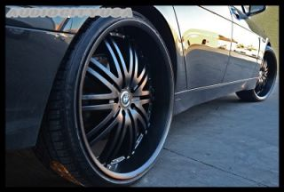 "20"" Staggered D 1 Black for BMW Wheels and Tires Rims 1 3 5 6 7 Series M3 M4 M5"