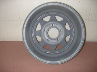 Chevy Buick Pontiac Oldsmobile 15x7 Steel Wagon Wheel