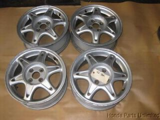96 97 98 99 00 01 Acura Integra Wheels Rims Stock Factory GSR 15""