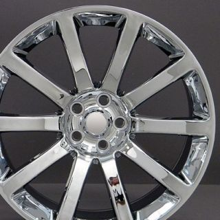 "22"" Chrome CL 300 SRT Wheels 22x9 Set of 4 Rims Fits Chrysler"