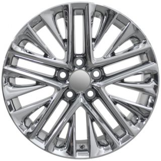"18"" ES350 Style Wheels Chrome PVD 18x7 Rims Set of 4 Fit Lexus"