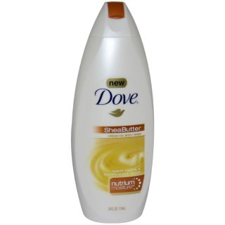 Dove Shea Butter 24 ounce Cream Oil Body Wash Dove Bath & Body Washes
