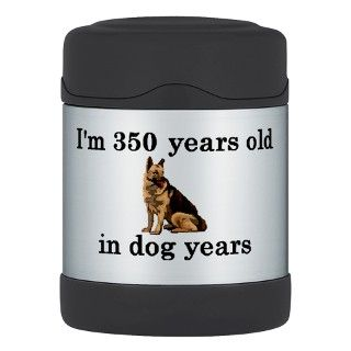 50 birthday dog years german shepherd 2 Thermos® F by PARTYHUT