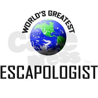 ESCAPOLOGIST124 Oval Car Magnet by Admin_CP2183672