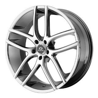 Lorenzo WL035 20x9.5 Chrome Wheel / Rim 5x112 with a 38mm Offset and a 66.56 Hub Bore. Partnumber WL03529557838 Automotive