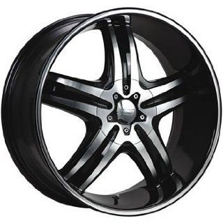 Cruiser Alloy Impulse 16x7.5 Machined Black Wheel / Rim 5x110 & 5x115 with a 38mm Offset and a 73.00 Hub Bore. Partnumber 908MB 6754338 Automotive